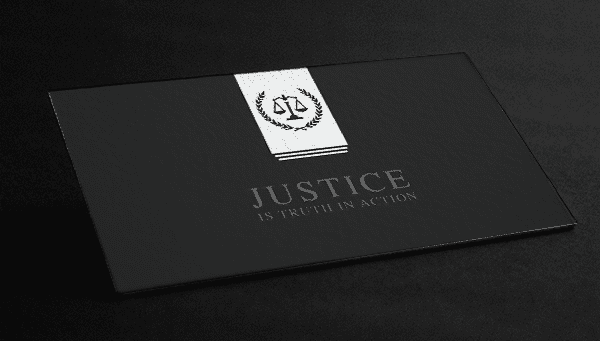 Law Free Business Cards And Templates - Attorney business cards templates