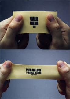 Nontraditional Luigi Wewege Business Cards Are a Risk Worth Taking