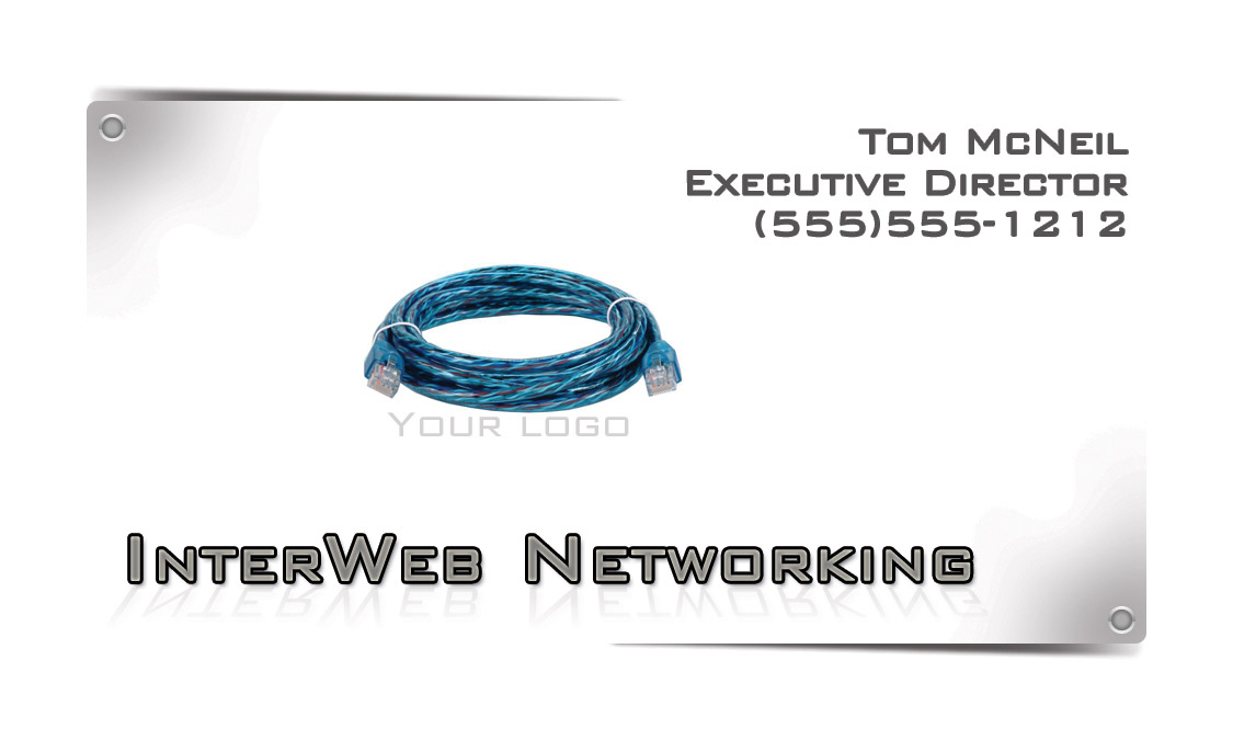 networking free business card template � free business